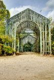 French green garden Stock Images