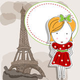 French gril Royalty Free Stock Photo