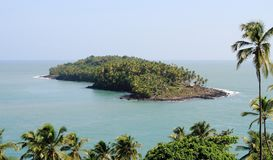 French Guiana, Iles du Salut - Islands of Salvation: Devils Island with Dreyfus Hut royalty free stock photography