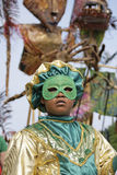 French Guiana's Annual Carnival February 7, 2010 Royalty Free Stock Image