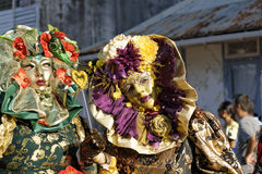 French Guiana's Annual Carnival February 7, 2010 Royalty Free Stock Photo