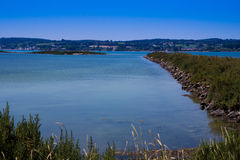 French Harbour Entrance Stock Images
