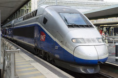 French high speed train: TGV Royalty Free Stock Photography