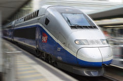 French high speed train: TGV Stock Photography