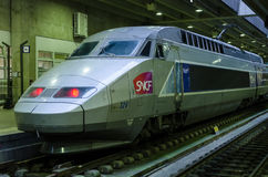 French high speed train: TGV Royalty Free Stock Photo
