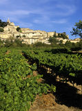 French hilltop village. Bonnieux the luberon vaucluse provence south of france europe Stock Photo