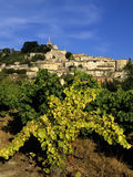 French hilltop village. Bonnieux the luberon vaucluse provence south of france europe Royalty Free Stock Photo