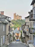 French historic town of Najac Royalty Free Stock Image