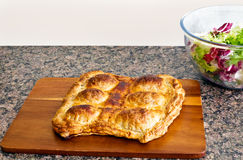 home-made egg pie Royalty Free Stock Image