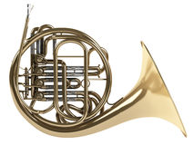 Free French Horn Royalty Free Stock Images - 19724789