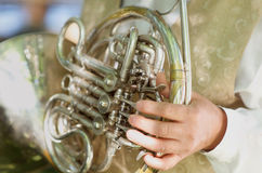 French Horn Royalty Free Stock Images