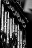 French Horn fragment closeup Royalty Free Stock Photo