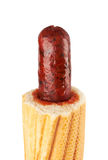 French Hot Dog Royalty Free Stock Photos
