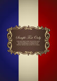 French Insignia Stock Photography