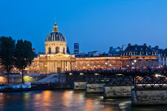 French institue of Paris, France Stock Photography