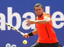 French Jo-Wilfried Tsonga Royalty Free Stock Photos