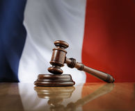 French Justice System Royalty Free Stock Images