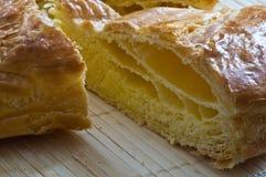French king cake closeup Stock Image