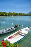 French lake Annecy Royalty Free Stock Photography