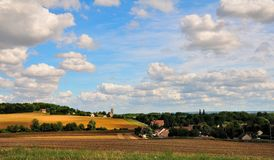 The French landscape. Stock Image