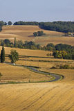 French Landscape in Late Summer Royalty Free Stock Image