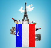 French language Royalty Free Stock Photo