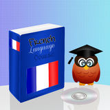 French language course. Illustration of French language course Royalty Free Stock Photo