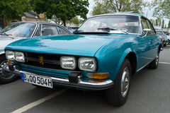 French large family car Peugeot 504 Stock Images