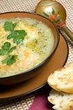 French leek soup Stock Photo
