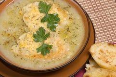 French leek soup Stock Image