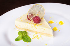 French lemon tart Stock Image