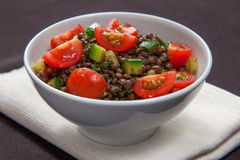 French lentil salad Royalty Free Stock Photography