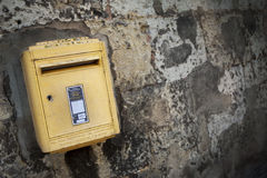 French letter box Stock Images