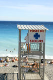 French lifeguard Stock Photography