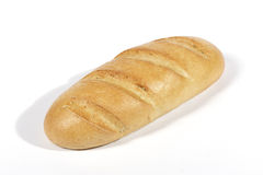 French loaf. Isolated french loaf Stock Photography