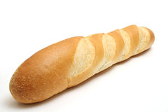 French loaf whole. Shot of a french loaf whole royalty free stock photos