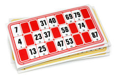 French loto game cardboards Stock Images
