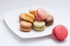 French macaron assortment Stock Image