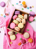 French macaron Royalty Free Stock Images