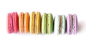 French Macaron Cookies Royalty Free Stock Images
