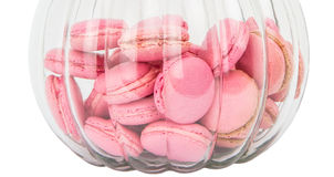 French Macaron In A Jar IV Stock Photo