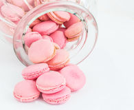 French Macaron In A Jar IX Stock Photography