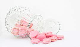 French Macaron In A Jar VII Royalty Free Stock Image
