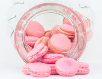 French Macaron In A Jar VIII Stock Photo