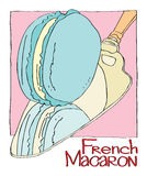 French Macaron Royalty Free Stock Photography