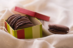 French macarons Royalty Free Stock Photo