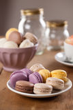 French Macarons Royalty Free Stock Photos