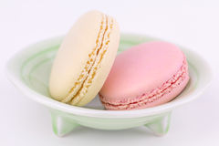 French macarons, close up Stock Photography