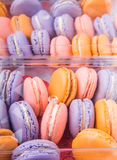 French Macarons Close Up View II Royalty Free Stock Photos