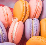 French Macarons Close Up View III Stock Image